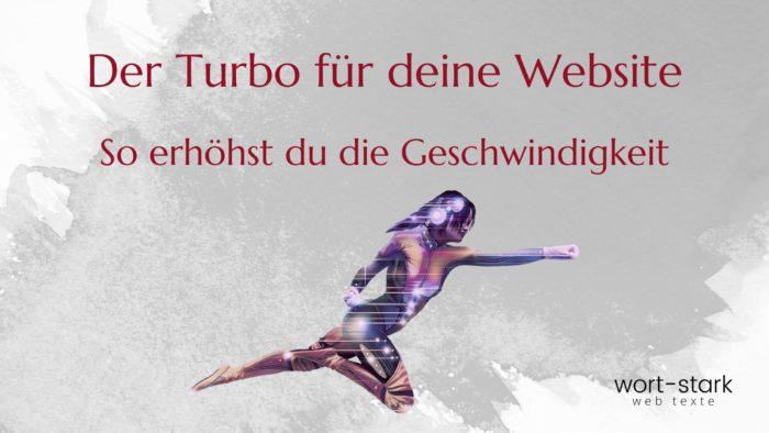 Der Turbo für deine Website - so erhöhst du die Geschwindigkeit (1)