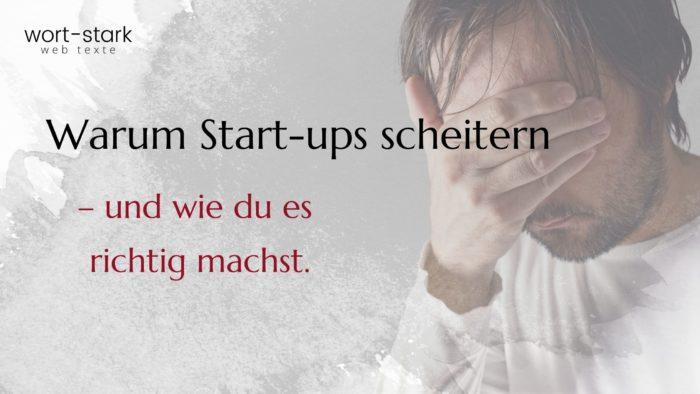 Warum Start-ups scheitern