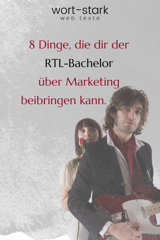 8 Dinge, die dir der RTL-Bachelor über Marketing beibringen kann-Pinterest