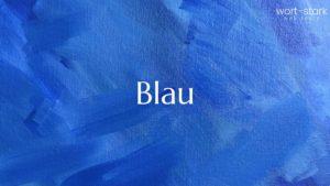 Unternehmensfarbe - Blau