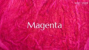 Unternehmensfarbe - Magenta